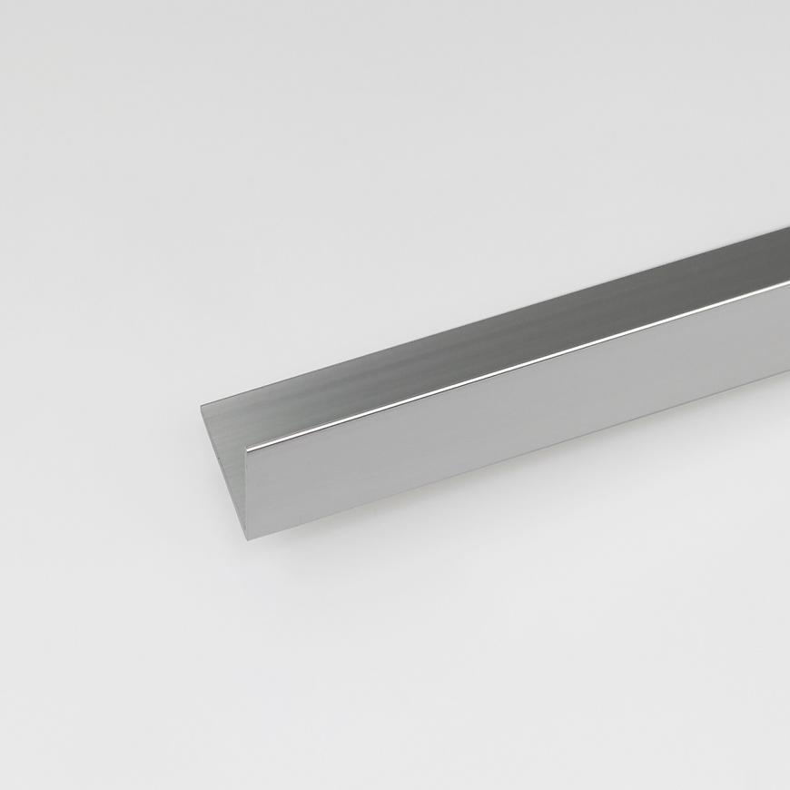 Rohový Profil  ALU Chrom 20x10x1000