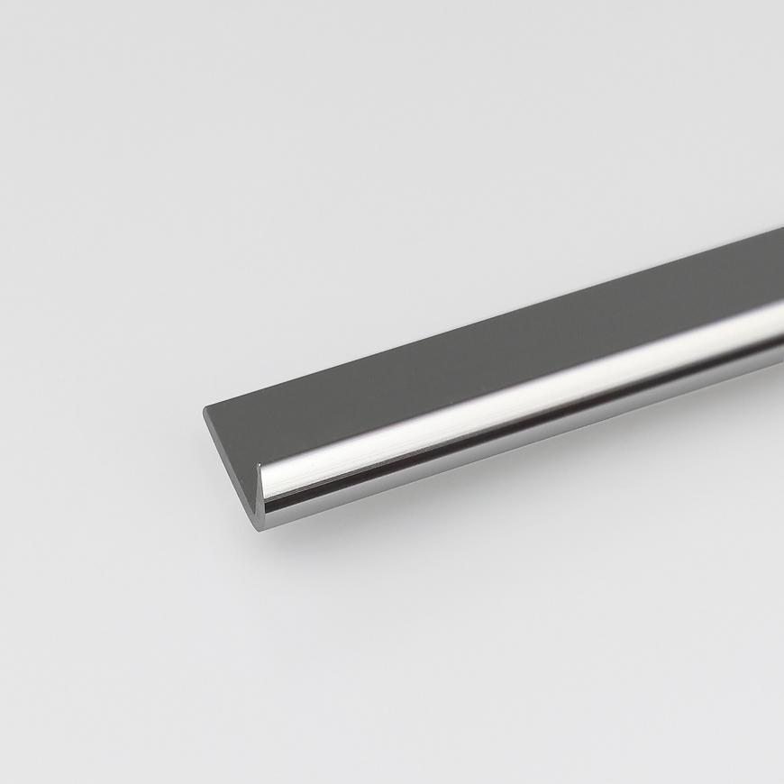 Profil Ukončovací ALU Chrom 18x1000