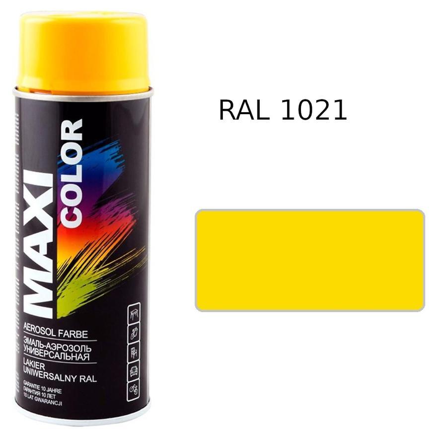 Sprej Maxi Color RAL1021 400ml