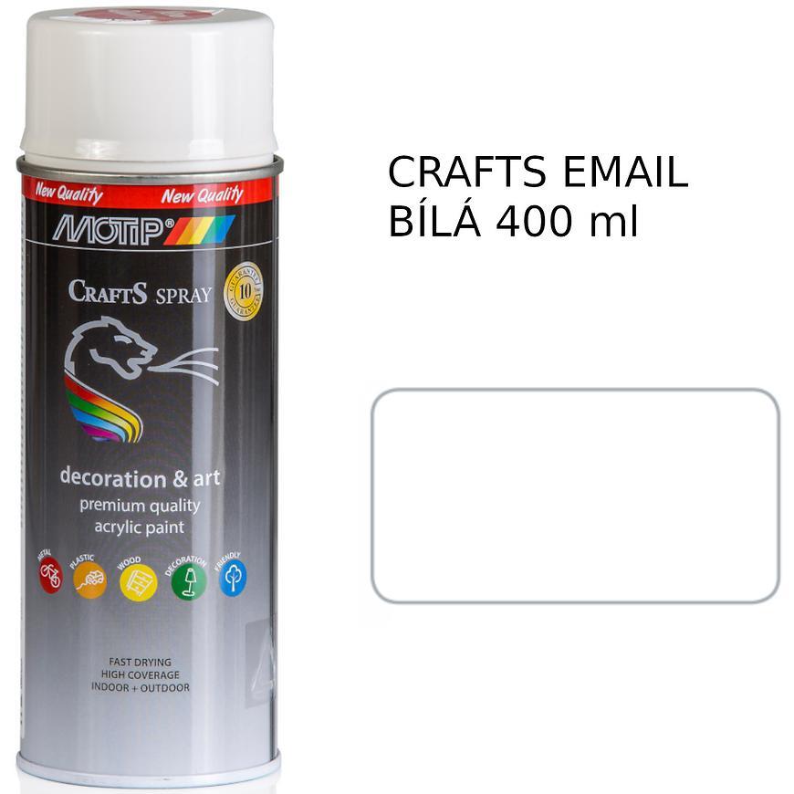 Sprej Crafts  email do van bílý 400ml