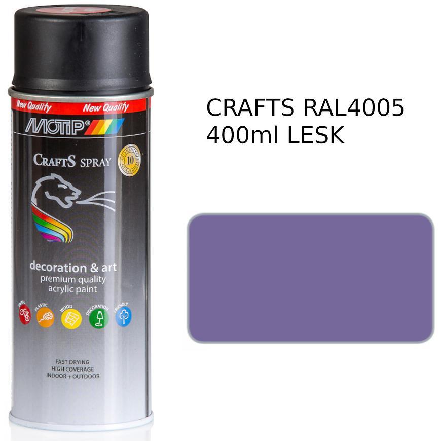 Sprej Crafts lilová RAL4005 400ml