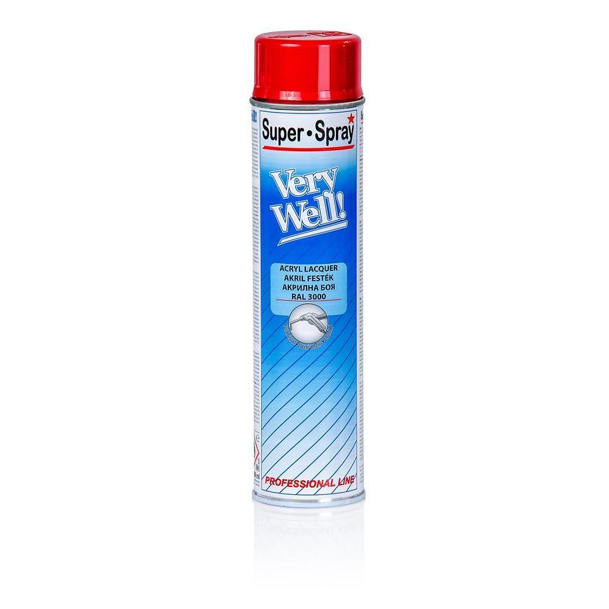 Sprej VeryWell RAL3000 600ml