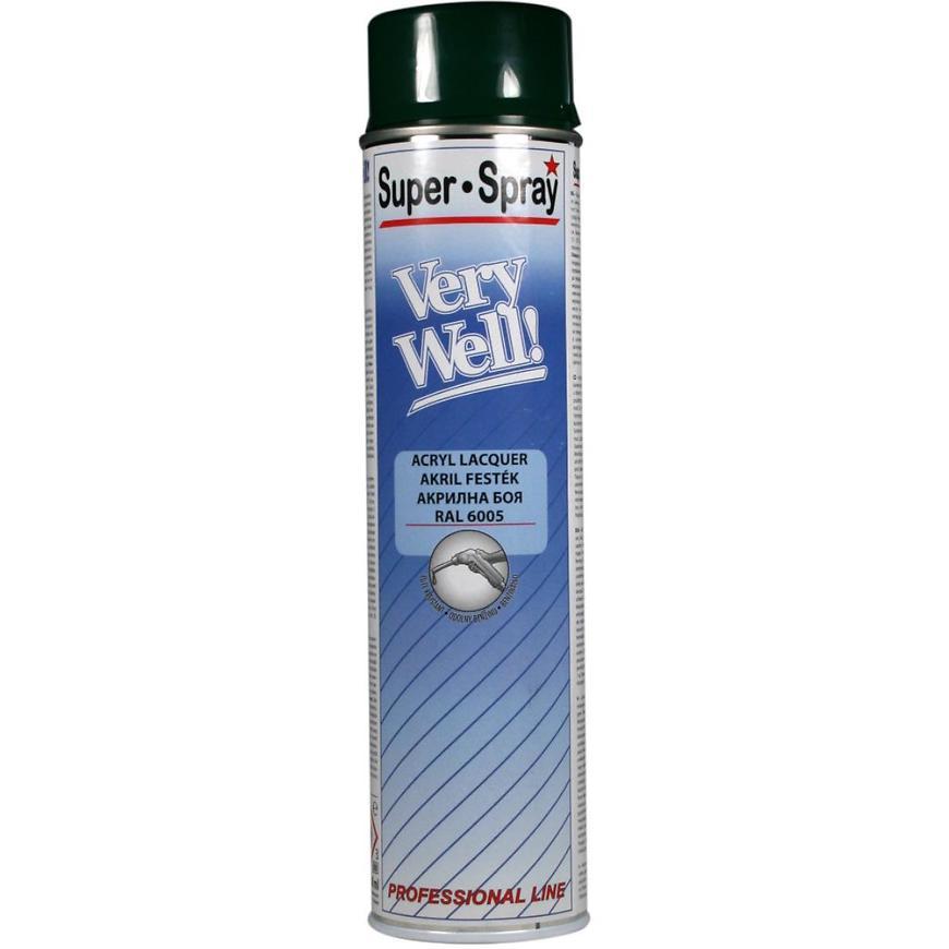 Sprej VeryWell RAL6005 600ml