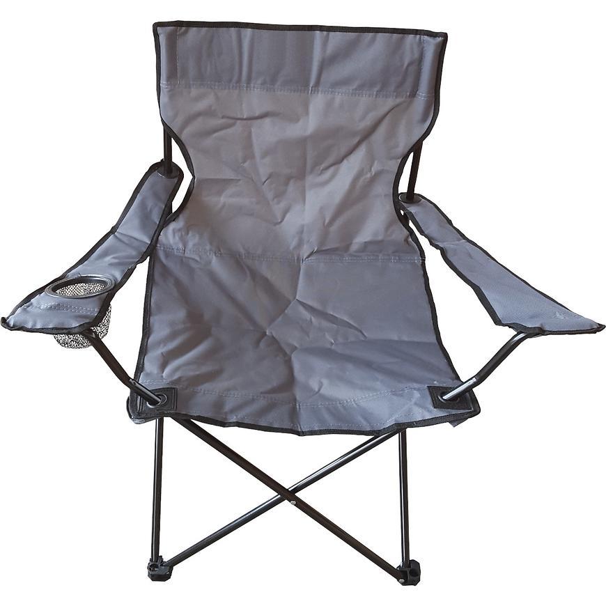 Camping židle D-005 50x41cm/80cm grafit