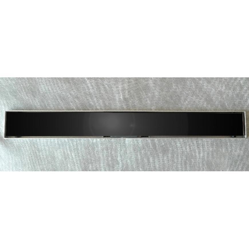 Lineární odvodnìní cèrné sklo 700