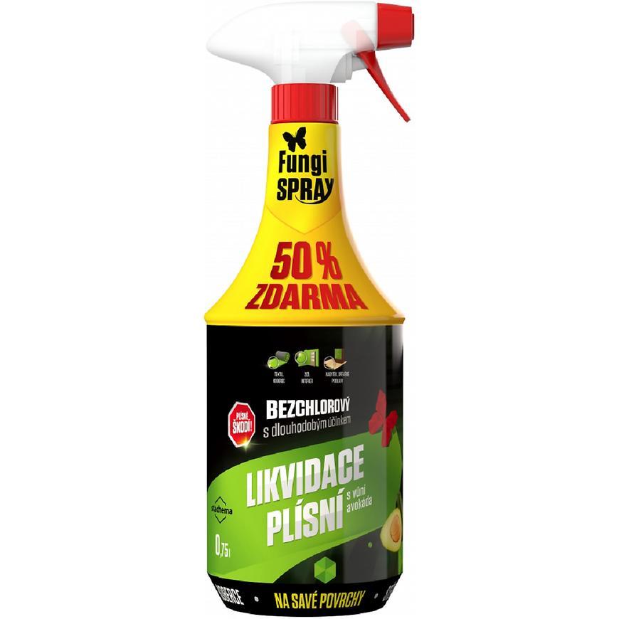 Fungispray bezchlorový avokado dezinfekční přípravek 0,5l + 50%