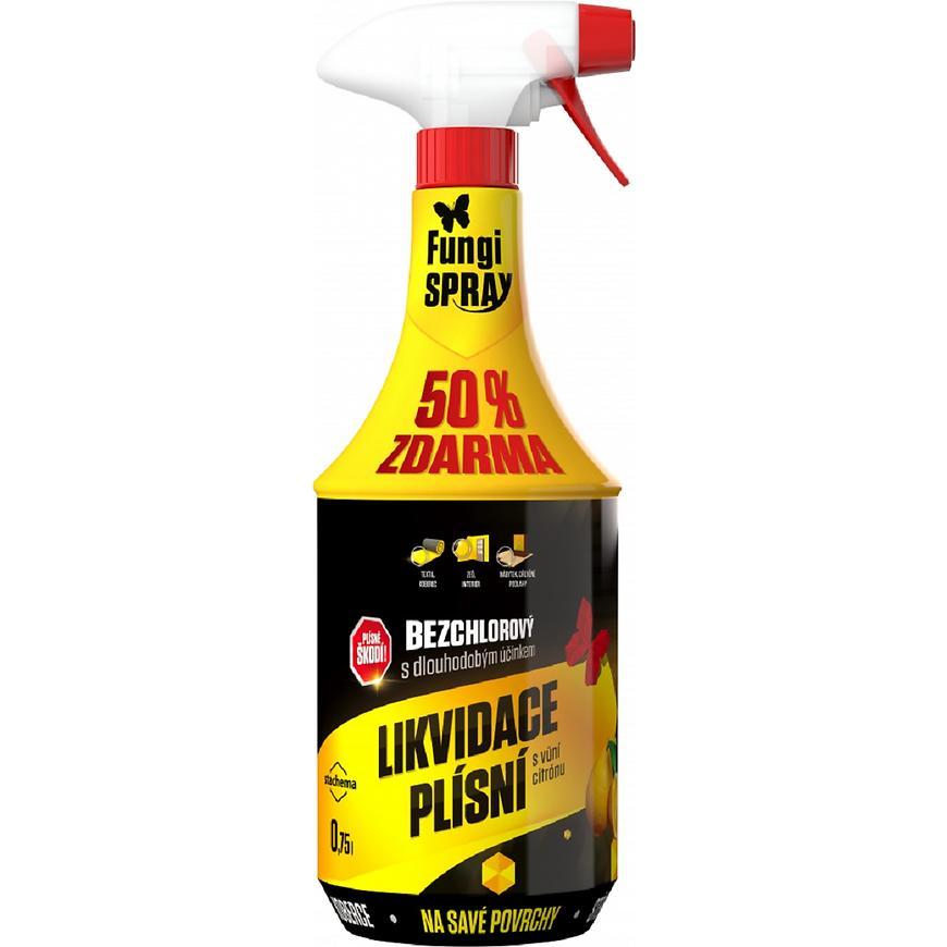 Fungispray bezchlorový citrón dezinfekční přípravek 0,5l + 50%