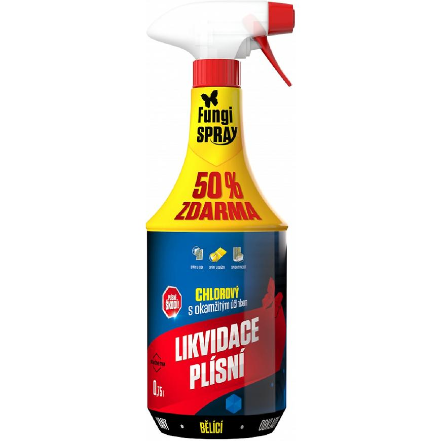 Fungispray chlorový dezinfekční přípravek 0,5l + 50%