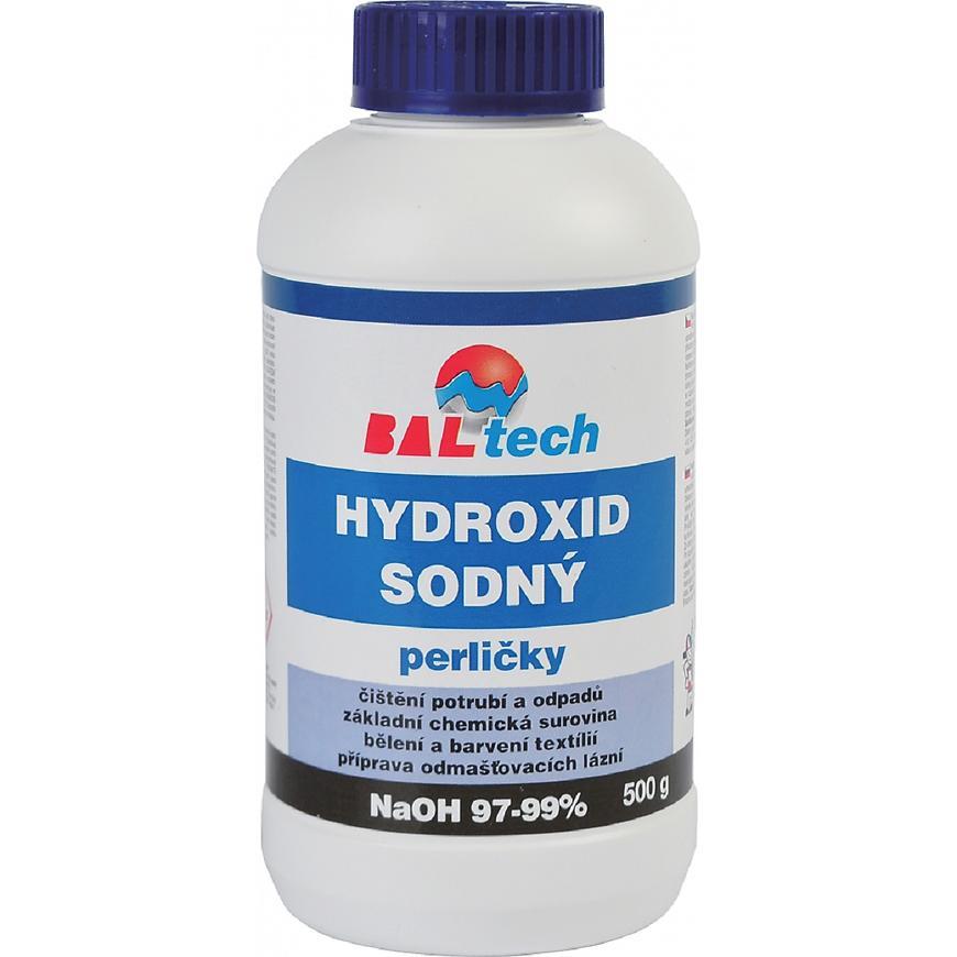 Hydroxid sodný 0,5kg