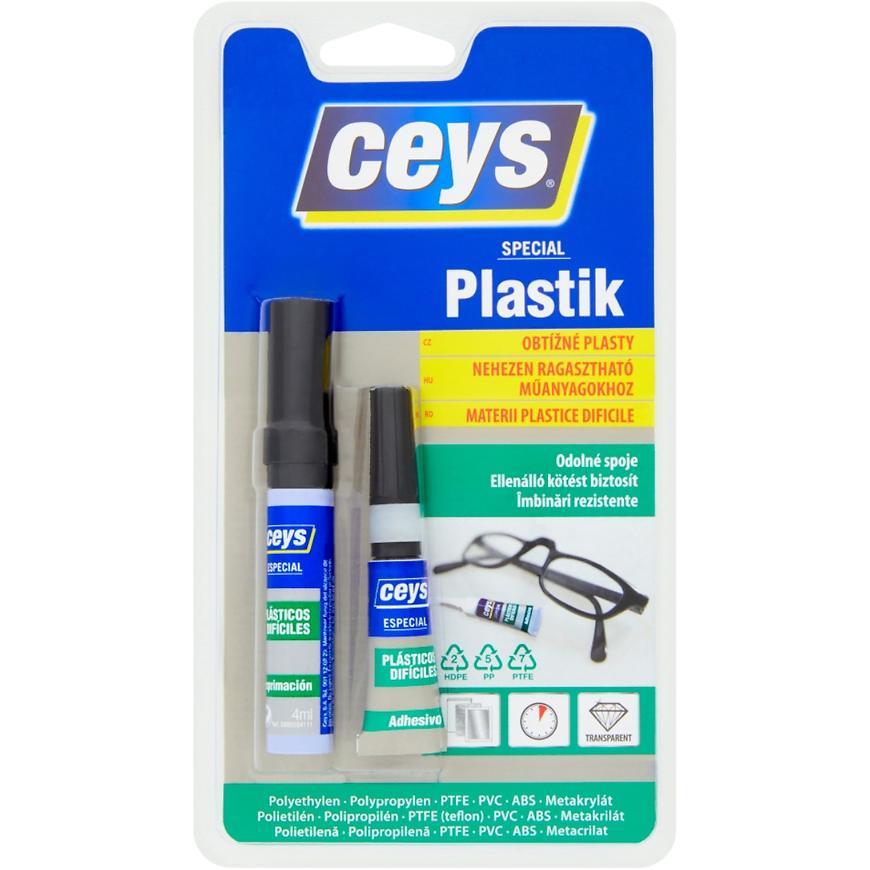 Lepidlo Ceys Special na obtížné plasty