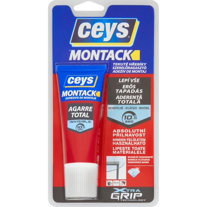 Montážní lepidlo Ceys Montack tekuté hřebíky 80 g