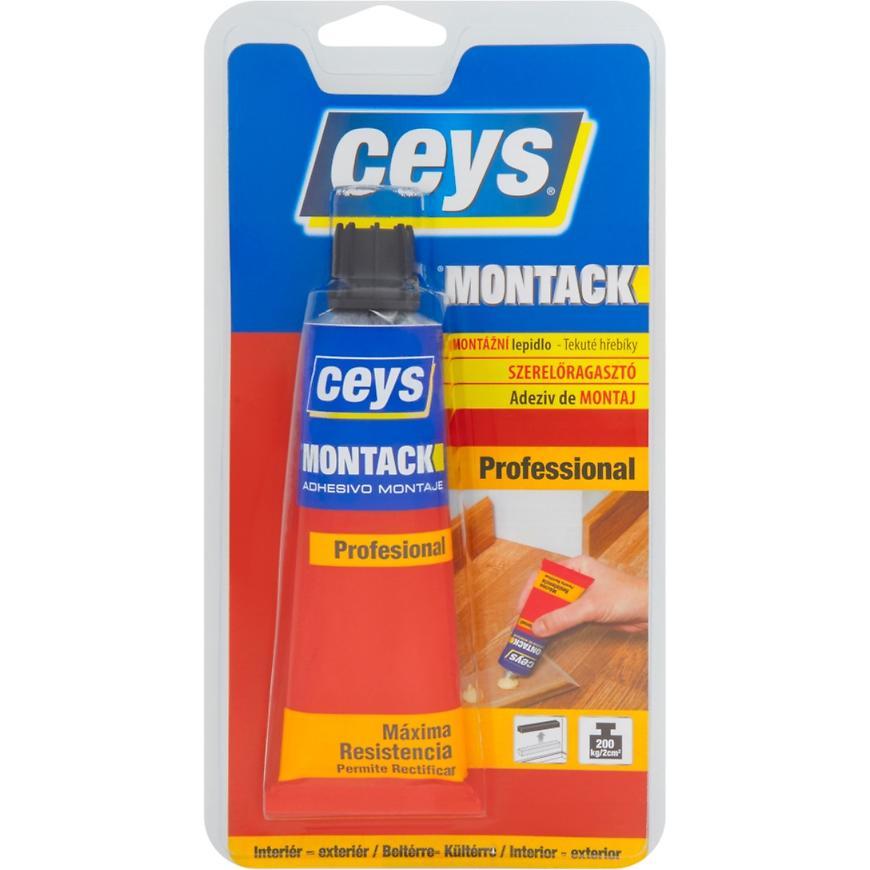 Montážní lepidlo Ceys Montack Professional tekuté hřebíky 100 ml