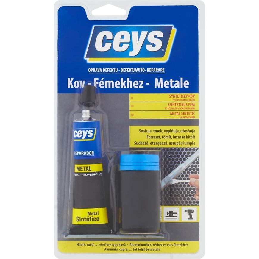 Tmel Ceys Oprava defektu syntetický kov dvousložkový 40 ml + 40 g
