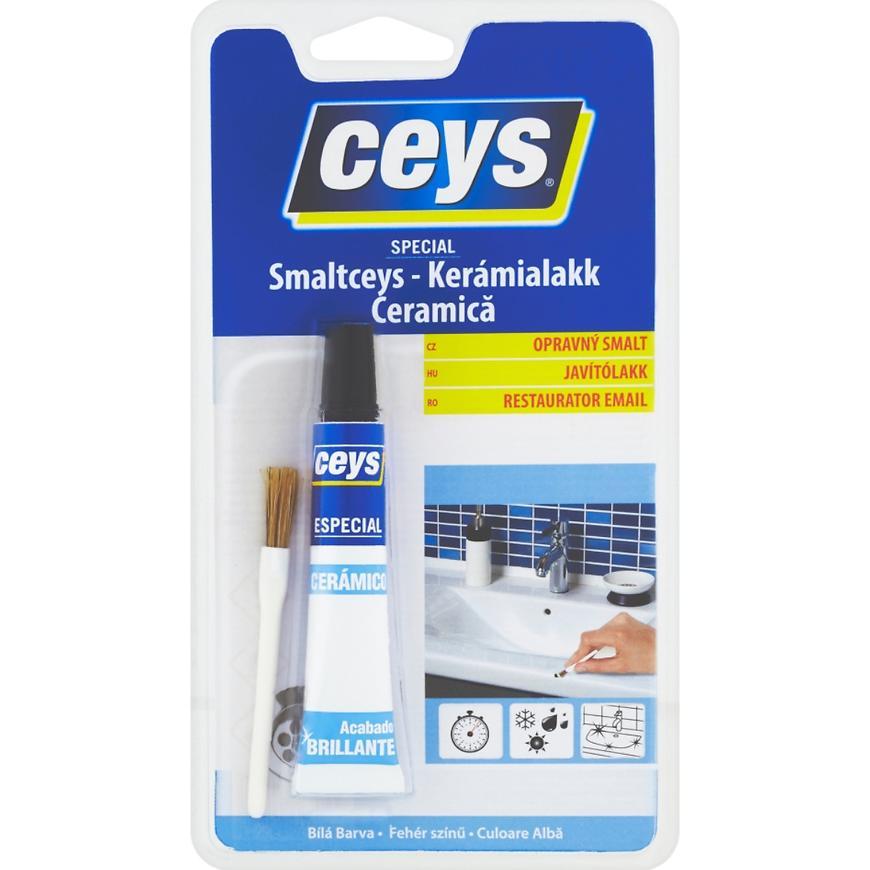 Lepidlo Ceys Special Smaltceys opravný smalt bílá 15 ml