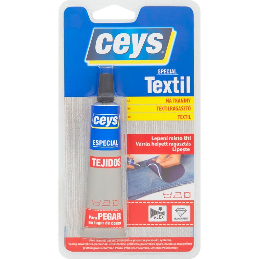 Lepidlo na tkaniny Ceys Special Textil 30 ml