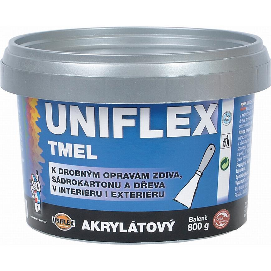 Uniflex akrylový tmel 800g