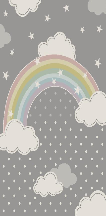 Koberec Diamond Pastel Kids 0,8/1,5 24185 95