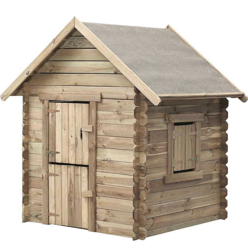 Dřevěný dětský domeček Western 150 cm