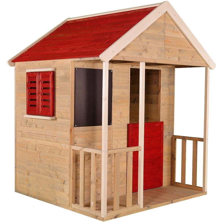 Dřevěný dětský domeček Veranda 120 cm