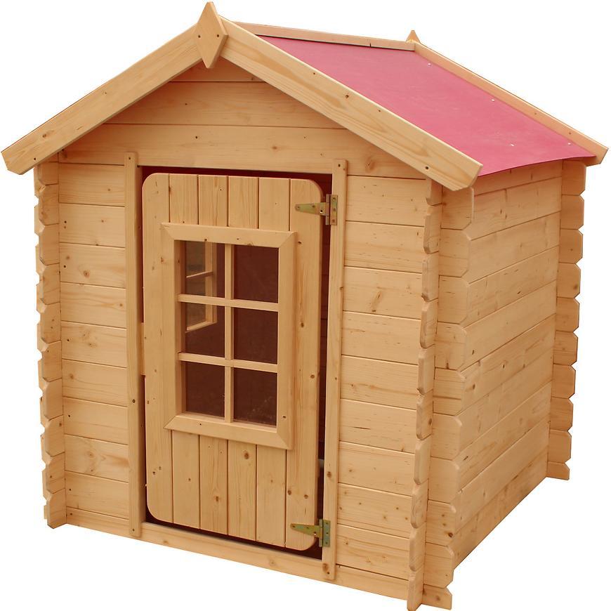 Dřevěný dětský domeček Vilemína 105 cm