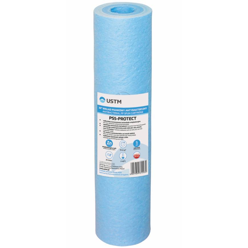 Pěnový antibakteriální filtr 5mic 10