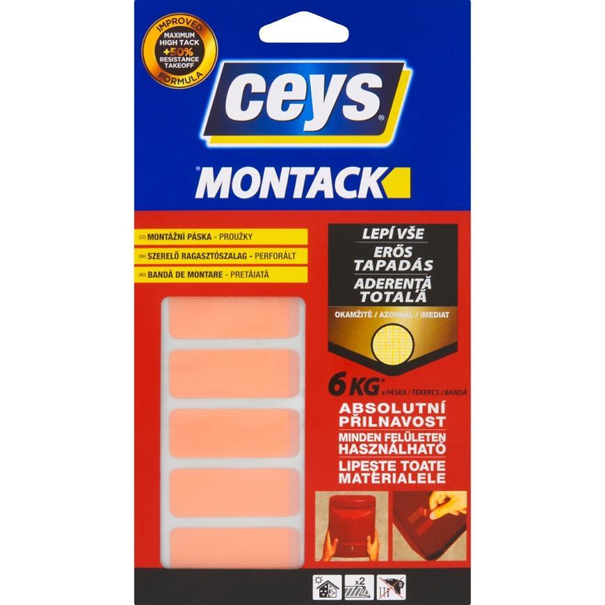 Montážní páska Ceys Montack 48 x 18 mm 10 ks