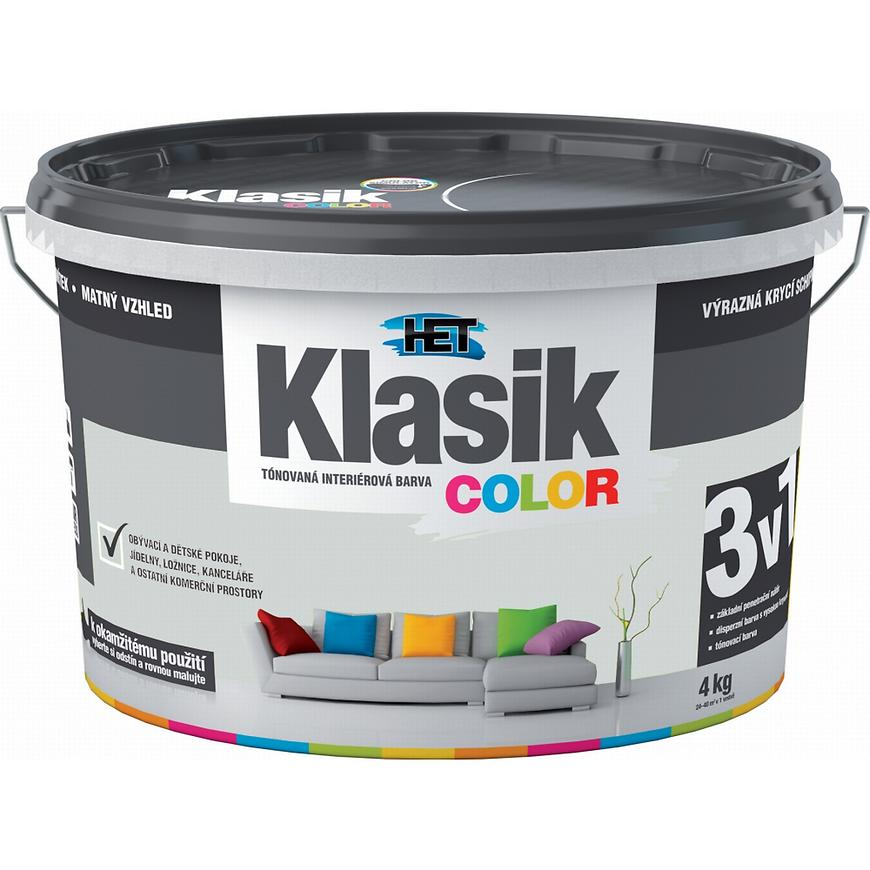 Het Klasik Color 0117 šedý platinový 4kg