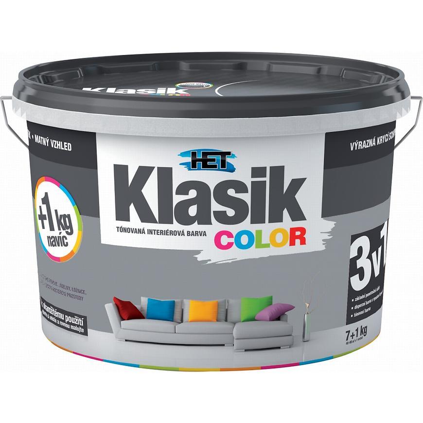 Het Klasik Color 0167 šedý betonový 7+1kg