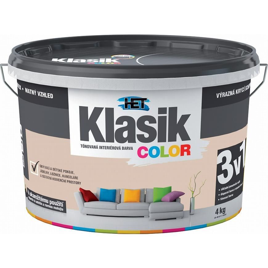Het Klasik Color 0238 béžový muškátový 4kg