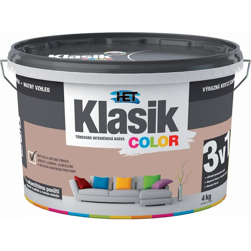 Het Klasik Color 0257 hnědý ořechový 4kg