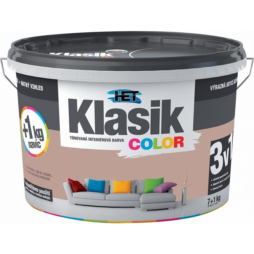 Het Klasik Color 0257 hnědý ořechový 7+1kg