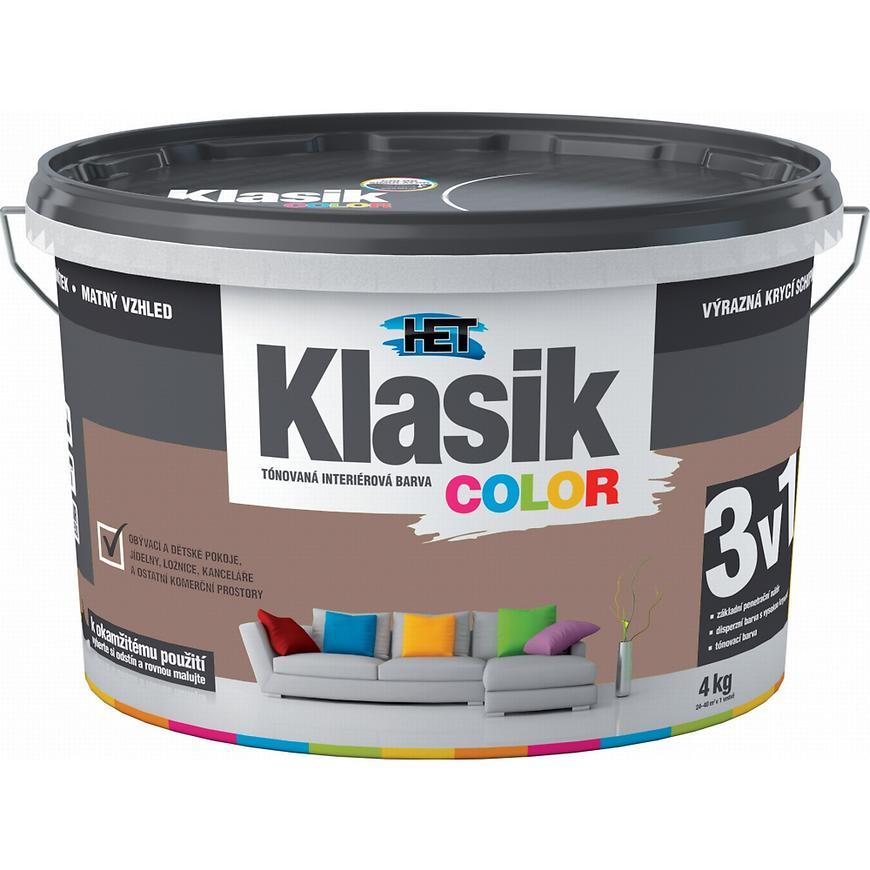 Het Klasik Color 0297 hnědý nugátový 4kg