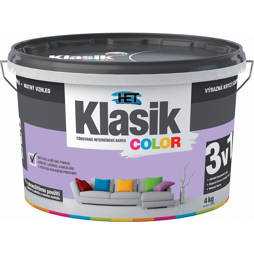 Het Klasik Color 0327 fialový lila 4kg