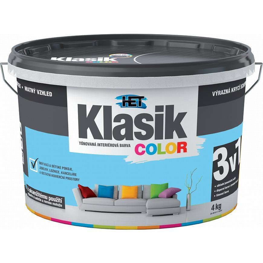 Het Klasik Color 0407 modrý blankytný 4kg