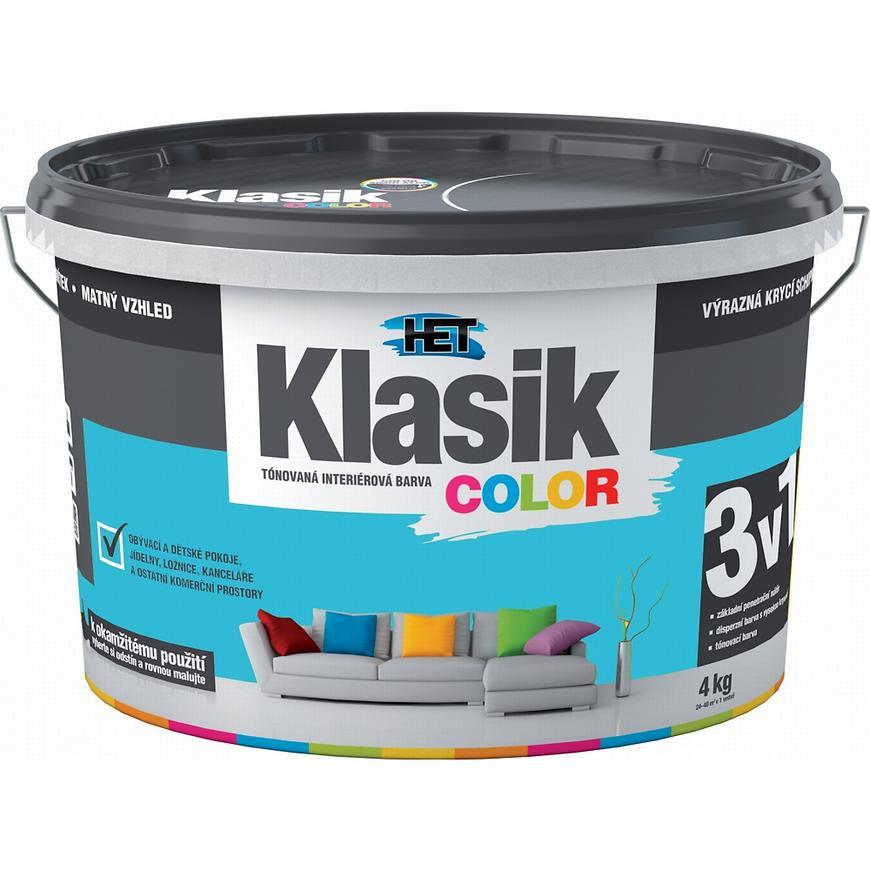 Het Klasik Color 0487 modrý tyrkysový 4kg