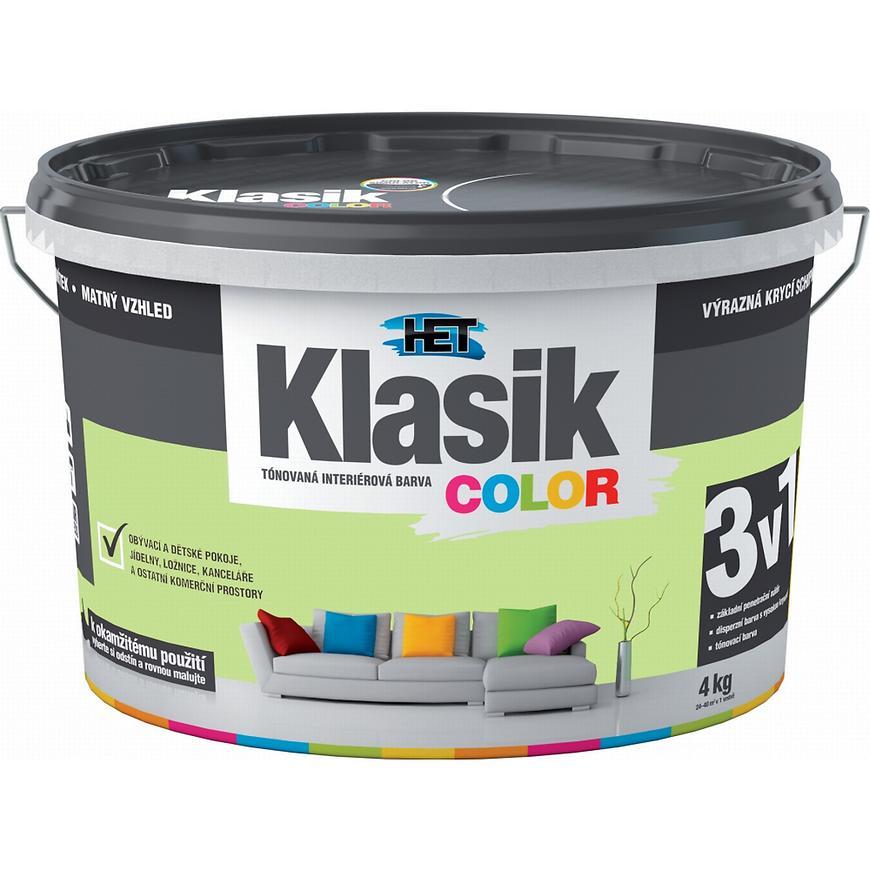 Het Klasik Color 0528 zelený pistáciový 4kg