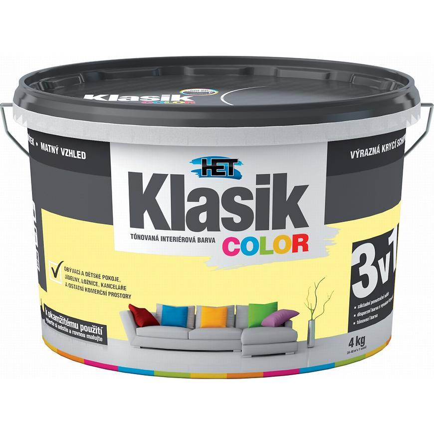 Het Klasik Color 0608 žlutý zázvorový 4kg