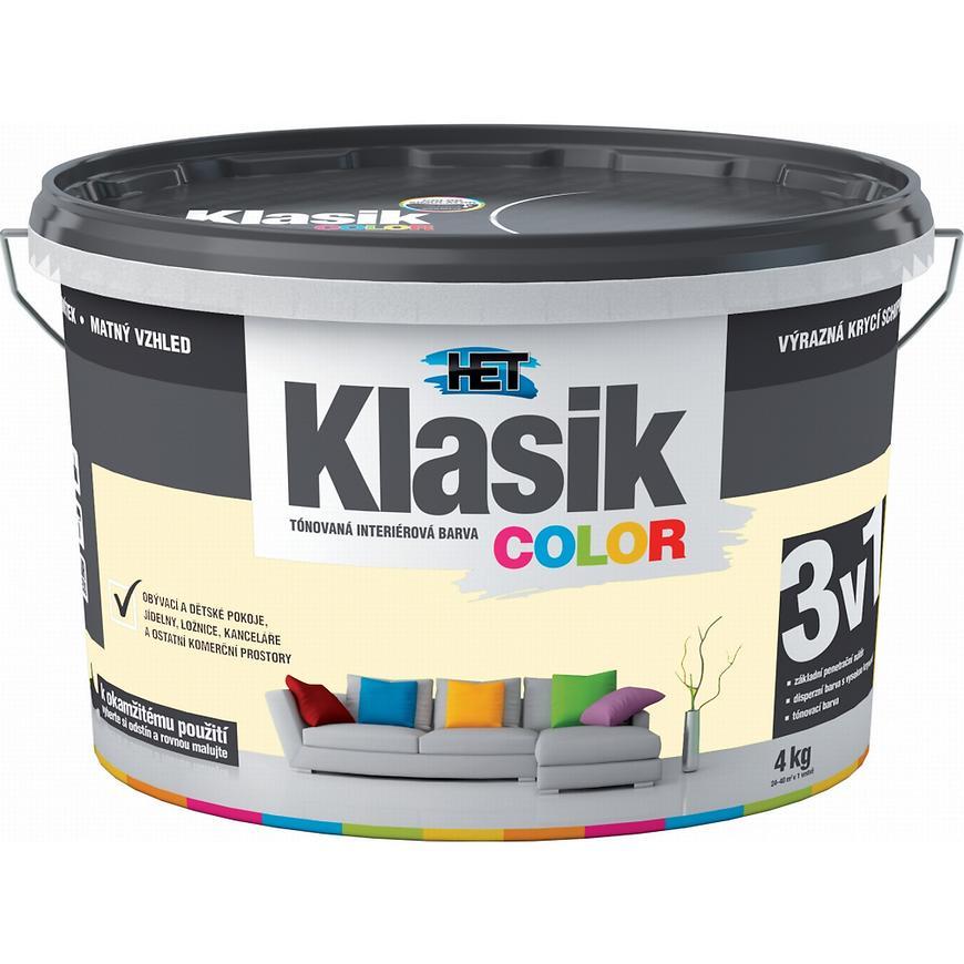 Het Klasik Color 0667 žlutý vanilkový 4kg