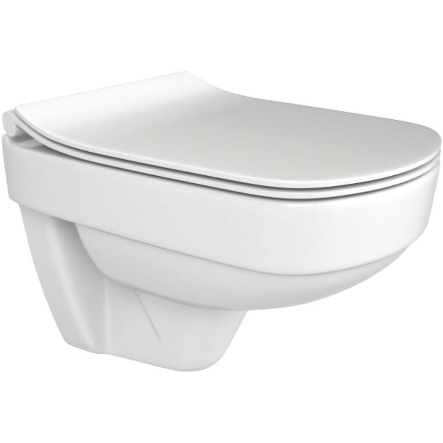Mísa WC závěsná Coranno Merro rimless
