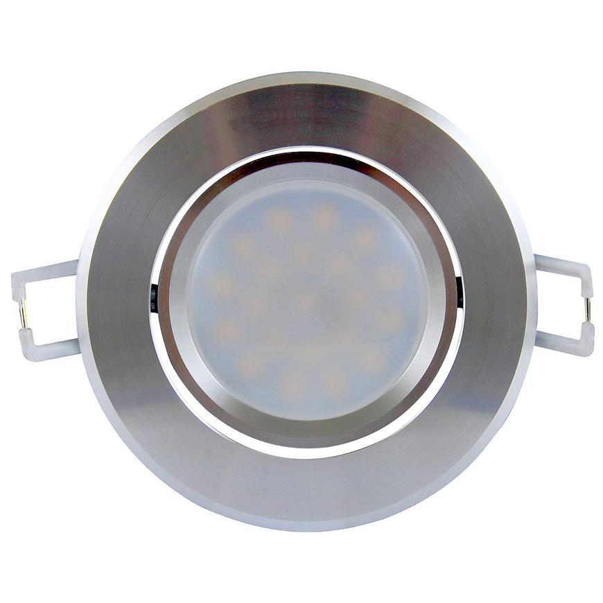 Bodové světlo LED Olal-IO84WWS1-250 3,5W stříbrné