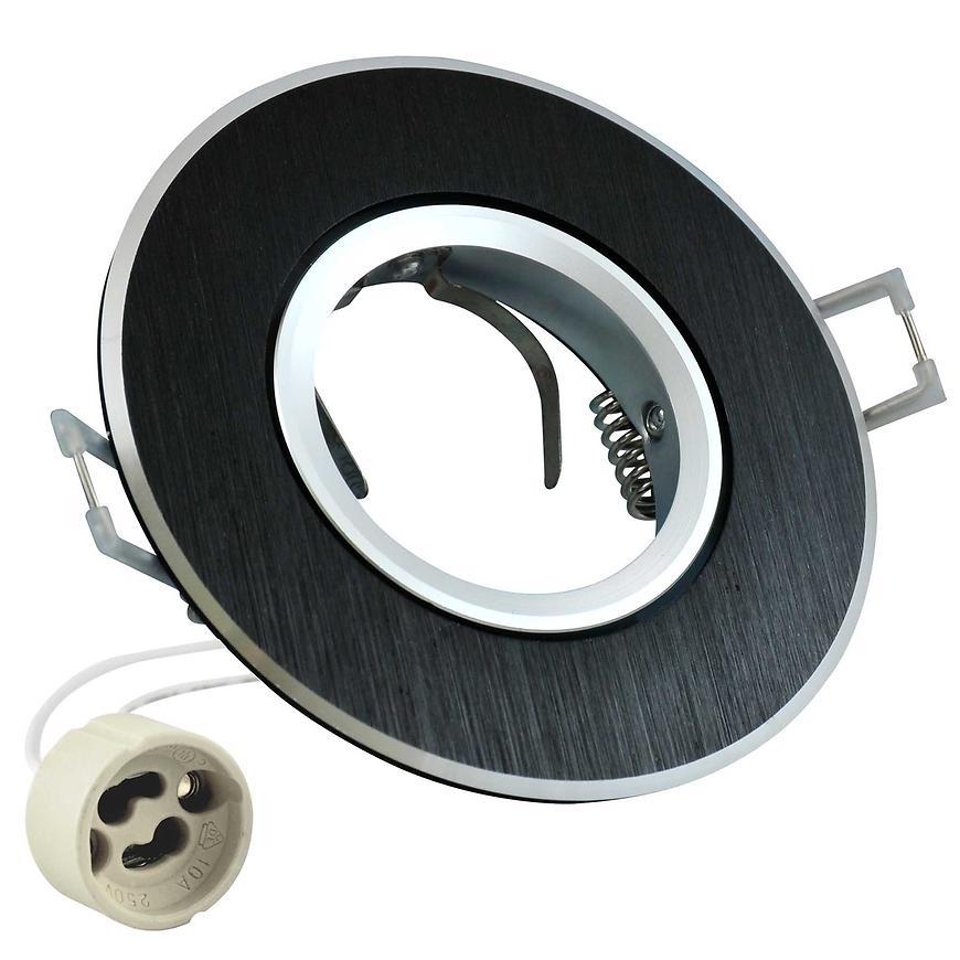 Stropní bodové světlo kulaté Opal -IQA95B2 černé