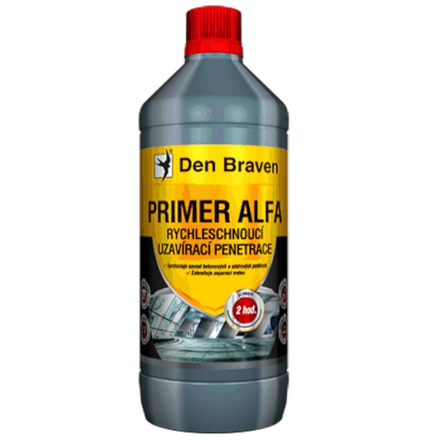 Jednosložková uzavírací penetrace Den Braven Primer Alfa 1 L