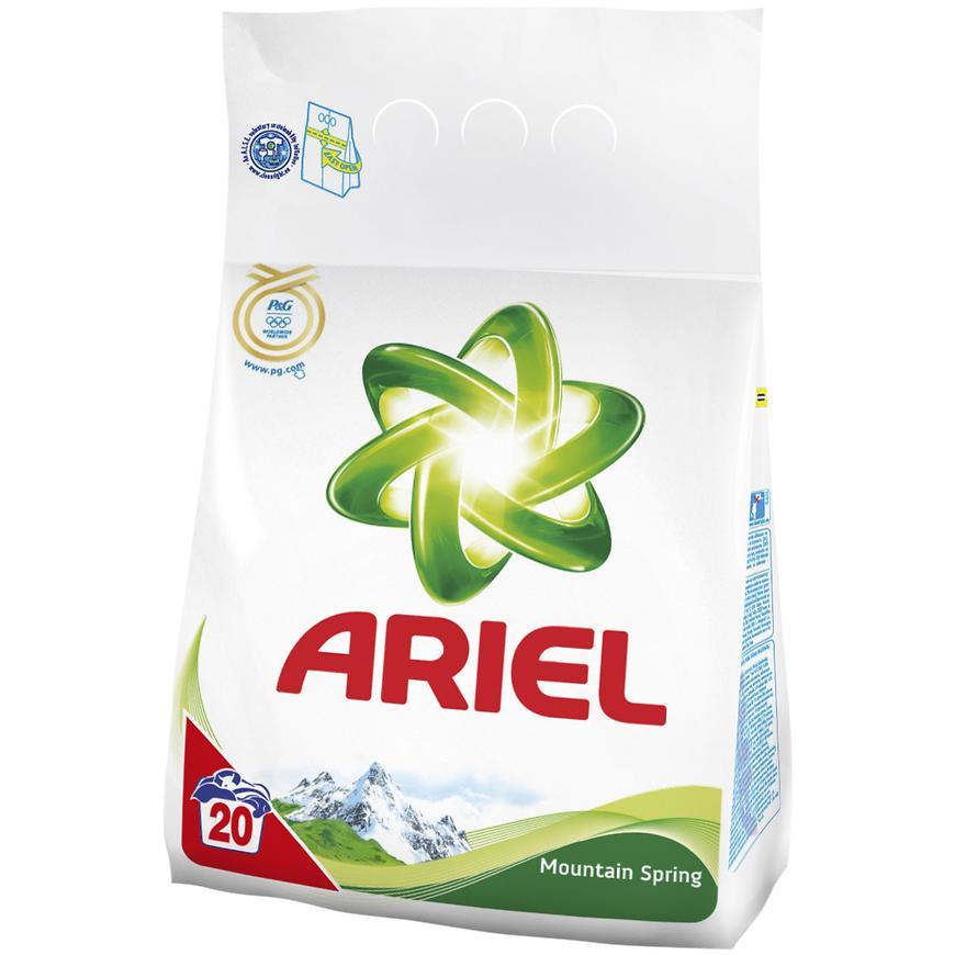 Ariel 20 dávek mountain spring 757029