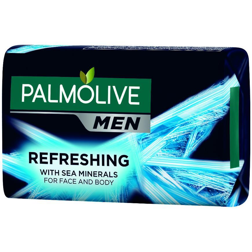 Palmolive mýdlo černé  men refreshing 90 g