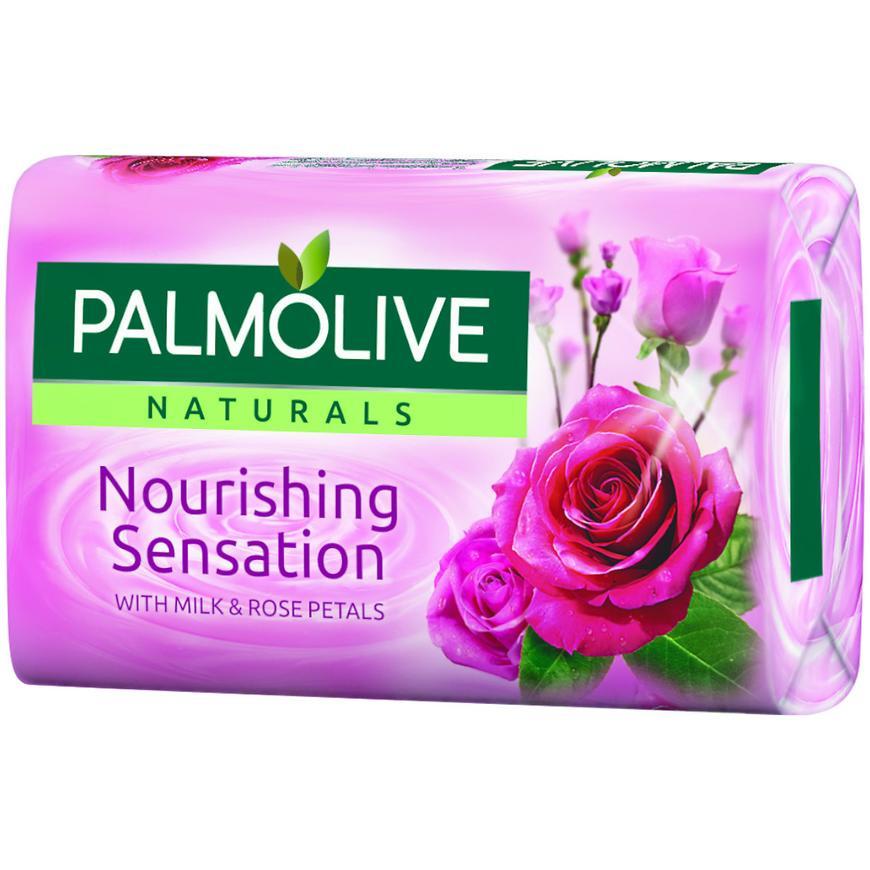 Palmolive mýdlo růžové milk&rose 90 g 785149