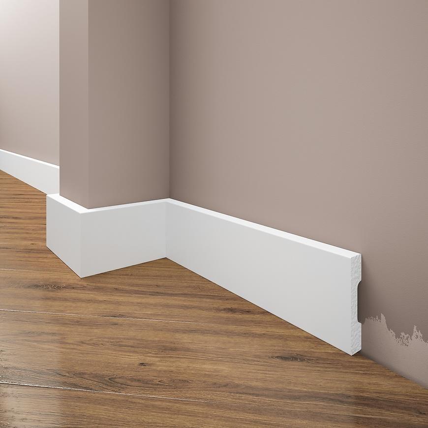 Podlahová lišta Elegance LPC-36-101 bílá mat