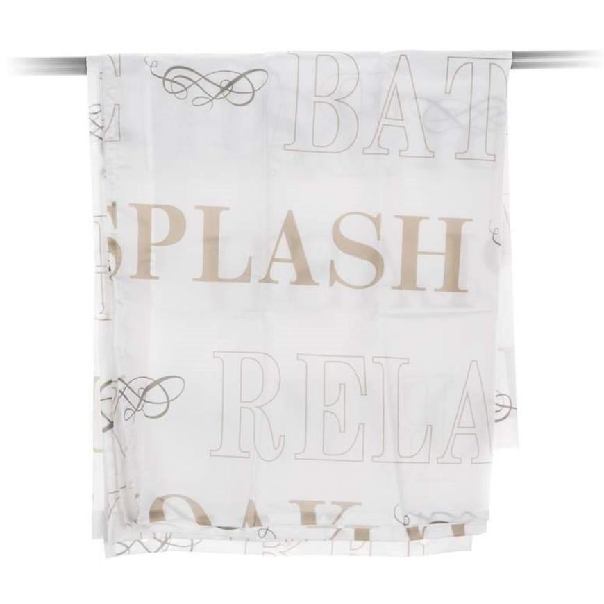 Sprchový závěs 180x200 cm pes Nápisy 42125024