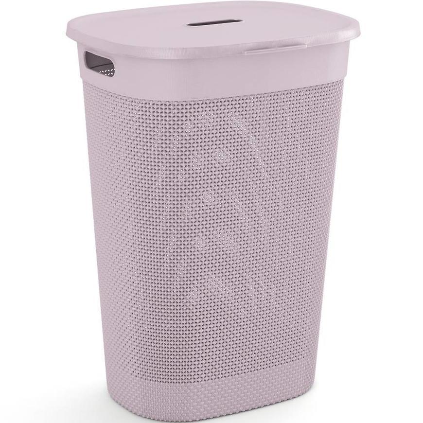 Prádelní koš filo růžový 237647