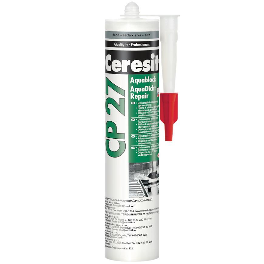 Ceresit cp 27 aquablock repair šedá 300ml
