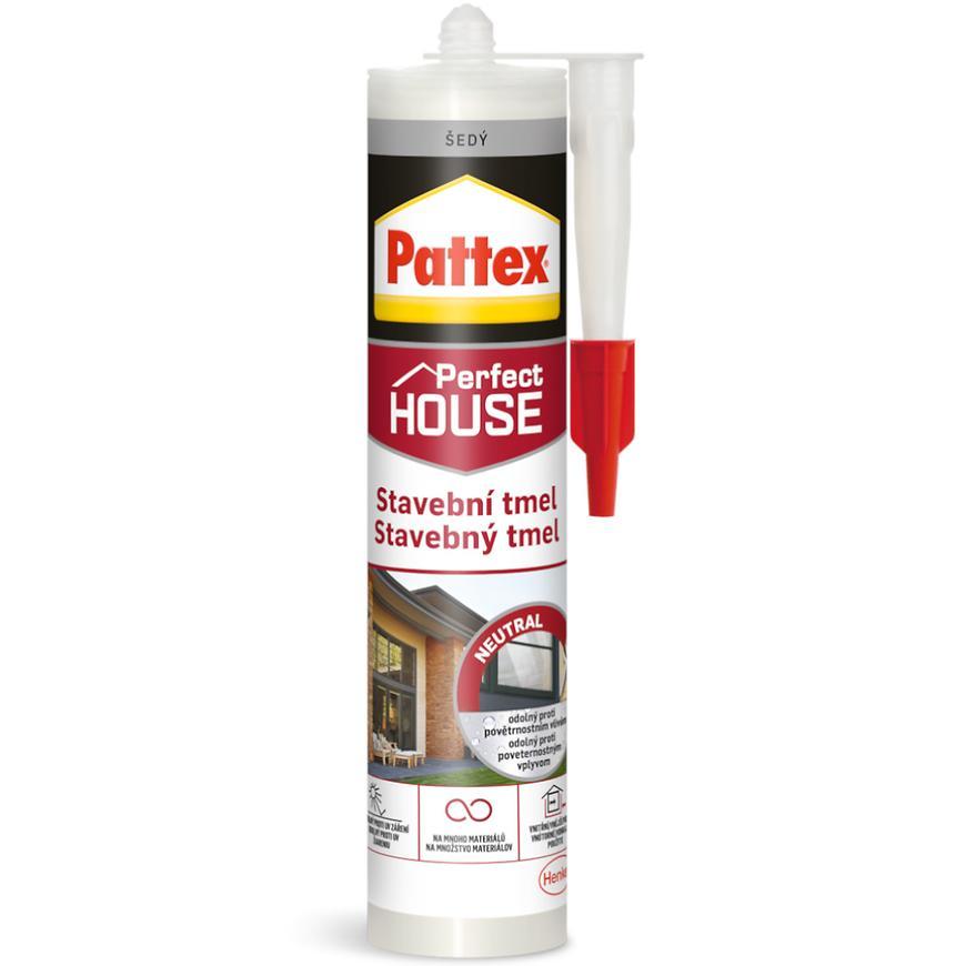 Pattex stavebni tmel sedy 280ml